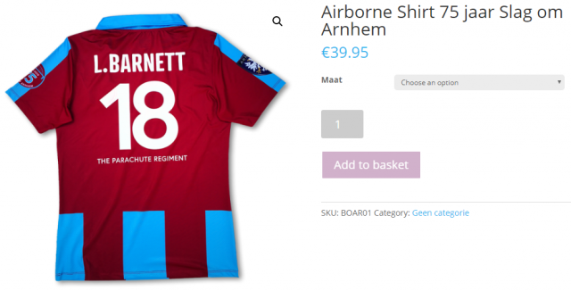 Al besteld?! Het Airborn shirt!