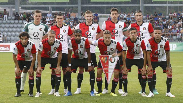 Spelers van Feyenoord volgens geen stijl