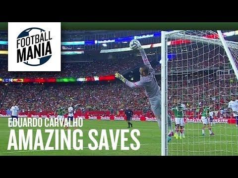 Portugal Goalkeeper Eduardo Carvalho Amazing Saves Vs. Mexico - 2014 FIFA Friendly